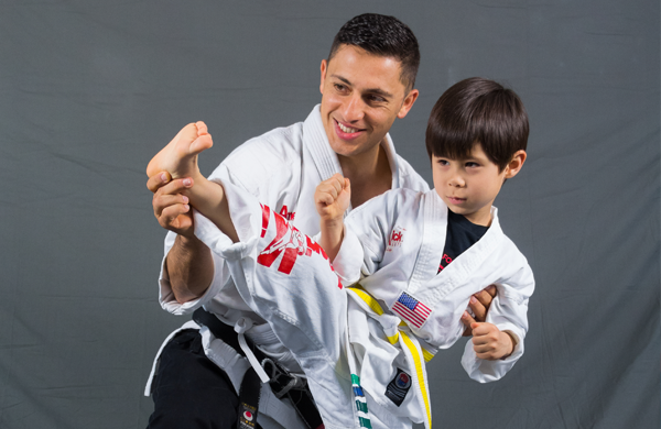 Amerikick martial arts karate classes little dragons